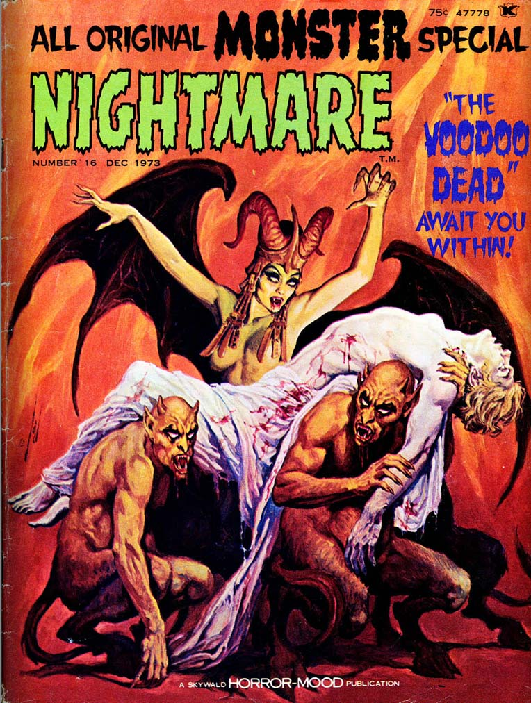 Skywald_Nightmare_The_1973_Monster_Special_Cover