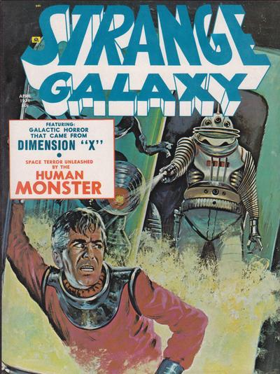 Strange Galaxy #09 April 1971