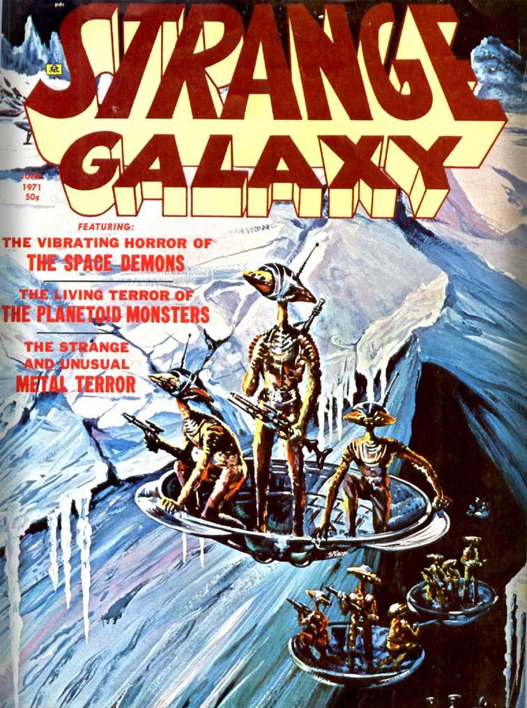 Strange Galaxy #10 June 1971