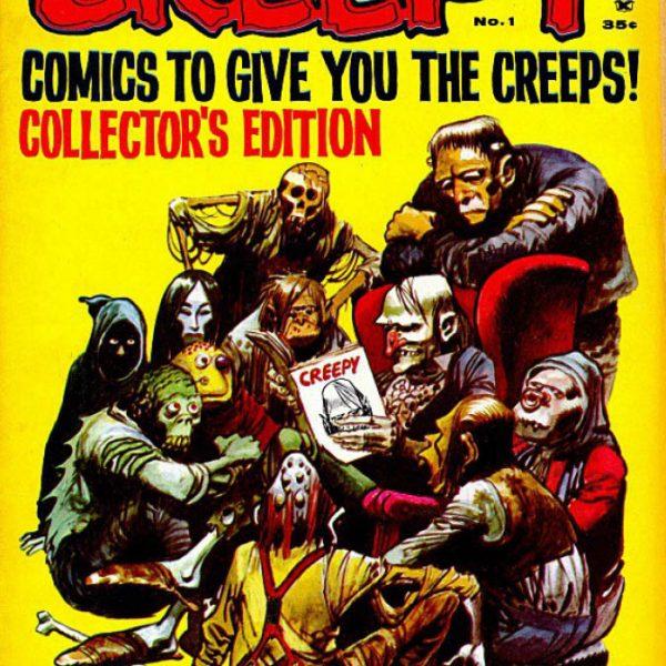 creepy horror comics warren publications vol 1 issues 1 10 books