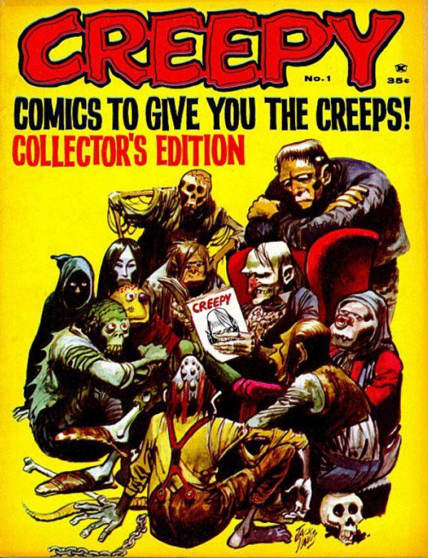 Creepy 001 Warren Comic Download