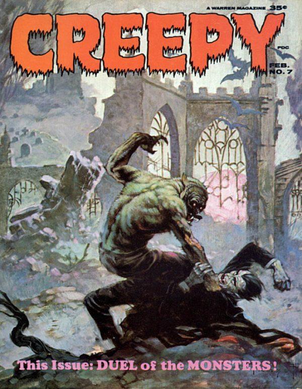 Creepy 007 Magazine Warren Download