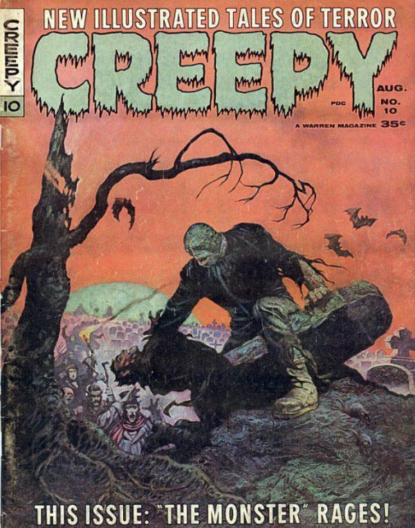 Creepy 010 Magazine Warren Download