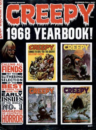 Creepy 1968 Yearbook Download