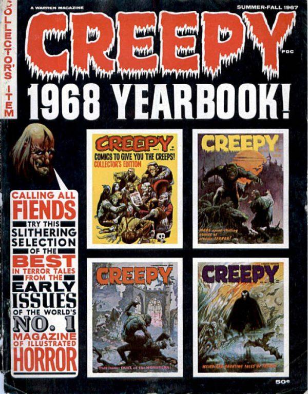 Creepy 1968 Yearbook Download