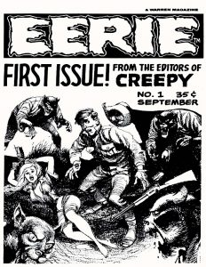 Eerie Comic Issue 001