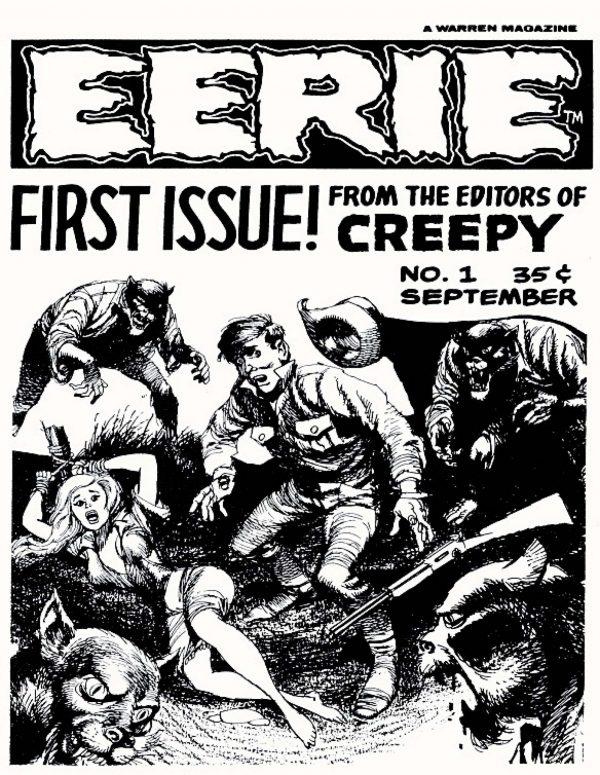 Eerie Comic Issue 001