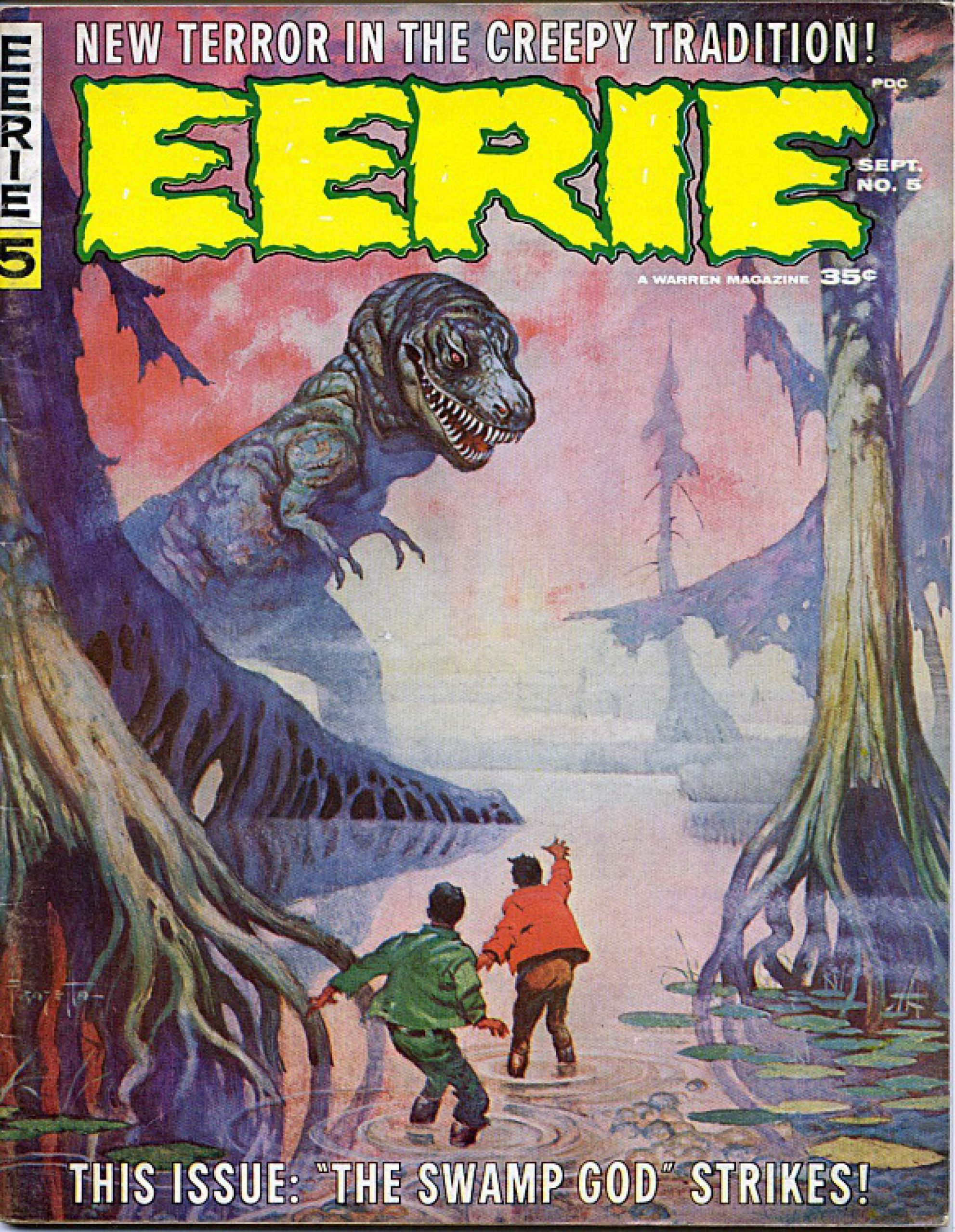 Eerie Comic Download Issue 005