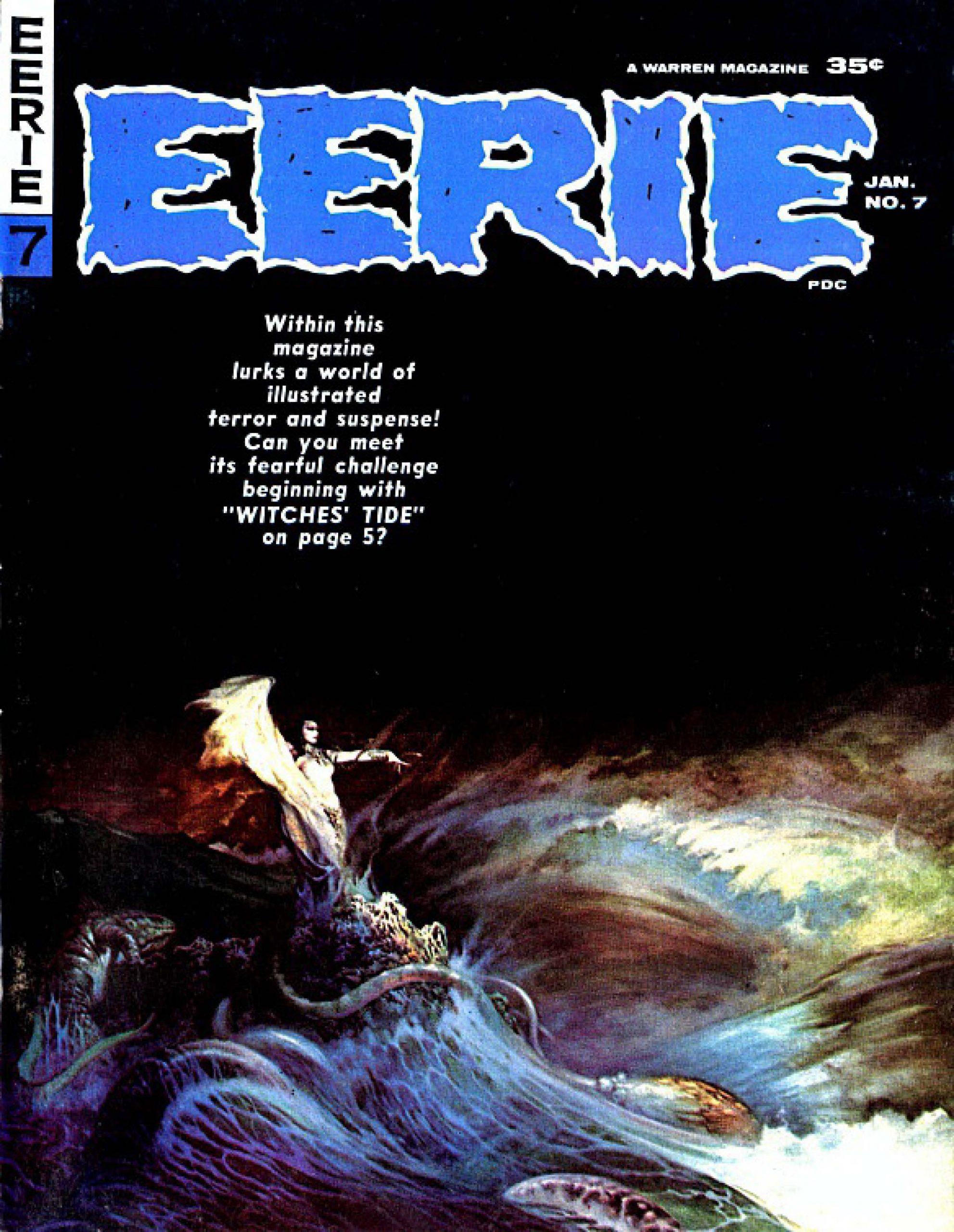 Eerie Comic Issue 007 Download