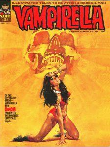 vampirella issue 21 1972